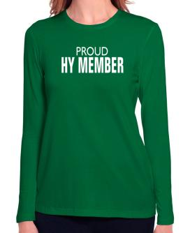 Proud Hy Member Long Sleeve T-Shirt-Womens