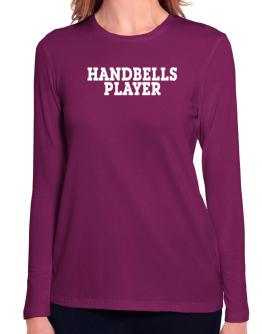Handbells Player - Simple Long Sleeve T-Shirt-Womens