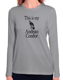 This is my Andean Condor Long Sleeve T-Shirt-Womens