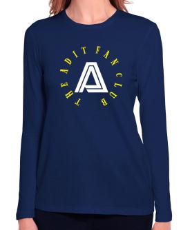 The Adit Fan Club Long Sleeve T-Shirt-Womens