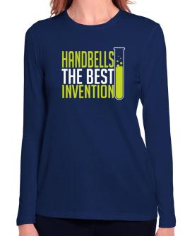 Handbells The Best Invention Long Sleeve T-Shirt-Womens