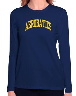 Aerobatics Athletic Dept Long Sleeve T-Shirt-Womens