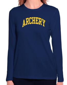 Archery Athletic Dept Long Sleeve T-Shirt-Womens