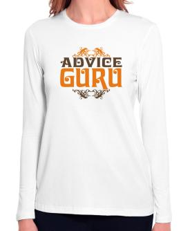 Advice Guru Long Sleeve T-Shirt-Womens