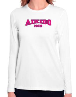 Aikido Mom Long Sleeve T-Shirt-Womens