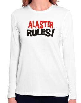 Alaster Rules! Long Sleeve T-Shirt-Womens