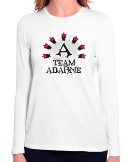 Team Abarne - Initial Long Sleeve T-Shirt-Womens