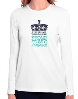 Proud To Be A Hy Member Long Sleeve T-Shirt-Womens