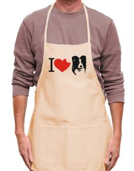 I love Border Collies Apron