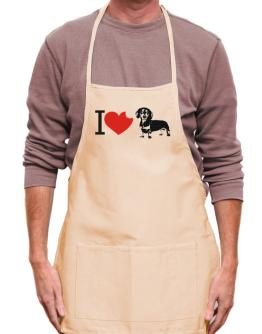 I love Dachshunds Apron