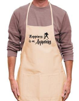 Happiness is a Aquarius Apron