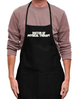 Doctor Of Physical Therapy Apron
