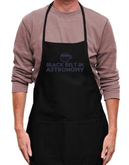 Black Belt In Astronomy Apron