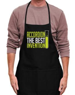 Accordion The Best Invention Apron