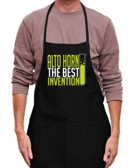 Alto Horn The Best Invention Apron