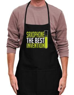 Saxophone The Best Invention Apron