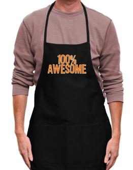 100% Awesome Apron