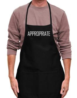 Appropriate - Simple Apron