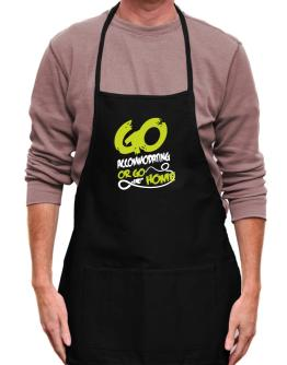 Go Accommodating Or Go Home Apron