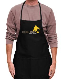 Curling - Only For The Brave Apron