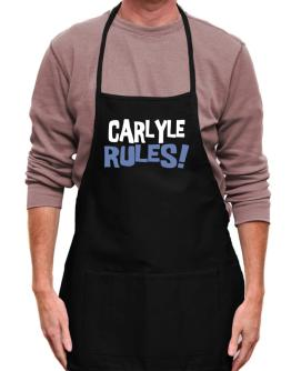 Carlyle Rules! Apron
