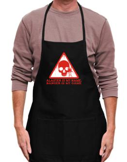 Alaster Is My Name, Danger Is My Game Apron