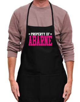 Property Of Abarne Apron