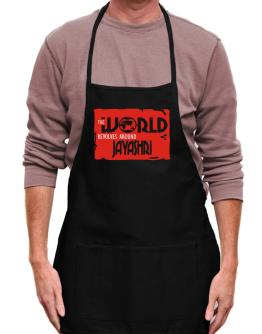 The World Revolves Around Jayashri Apron