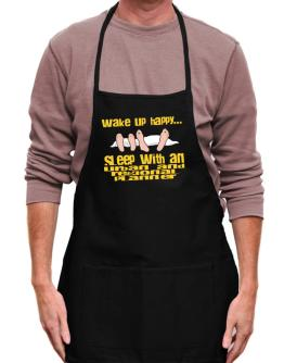 wake up happy .. sleep with a Urban And Regional Planner Apron