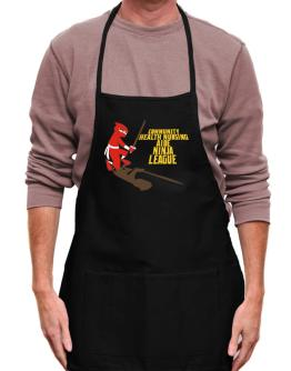 Community Health Nursing Aide Ninja League Apron