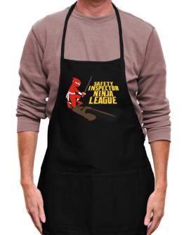 Safety Inspector Ninja League Apron