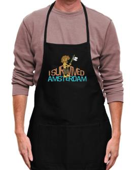 I Survived Amsterdam Apron