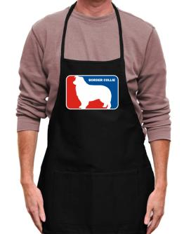 Border Collie Sports Logo Apron