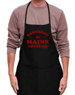 Somebody Maine Apron