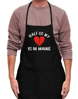 Half Of My Maine Apron