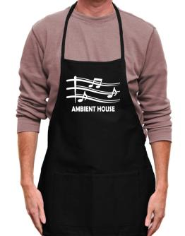 Ambient House - Musical Notes Apron