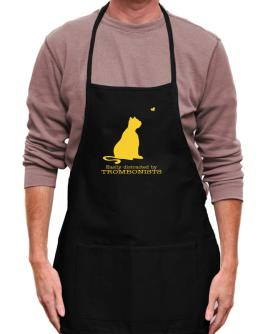Easily Distracted By Trombonists Apron