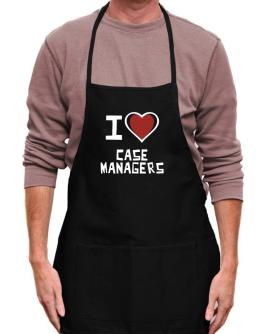 I Love Case Managers Apron