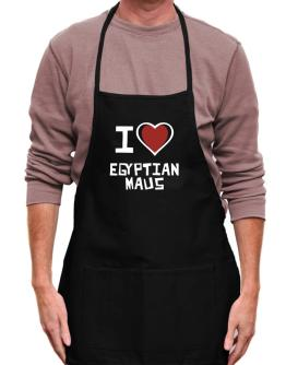 I Love Egyptian Maus Apron