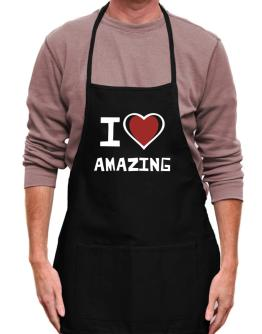 I Love Amazing Apron