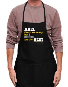 Abel There Are Many... But I (obviously) Am The Best Apron