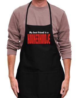 Kooikerhondje Is My Best Friend Apron