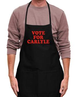 Vote For Carlyle Apron