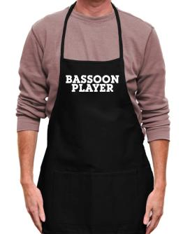 Bassoon Player - Simple Apron