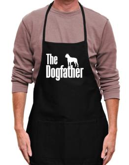 The dogfather Boston Terrier Apron