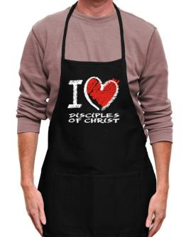 I love Disciples Of Christ chalk style Apron
