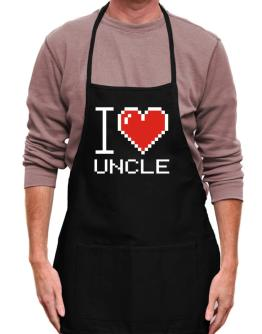 I love Auncle pixelated Apron