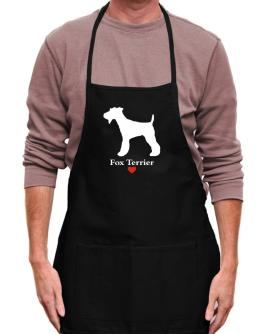 Fox Terrier love Apron