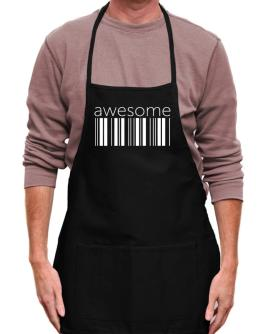 awesome barcode Apron