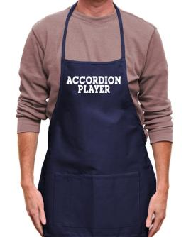 Accordion Player - Simple Apron